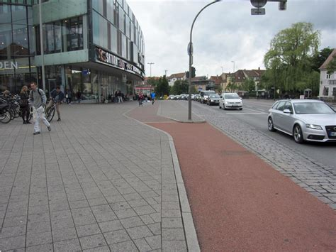 better bike erlangen segregated cycle path in erlangen push bikes