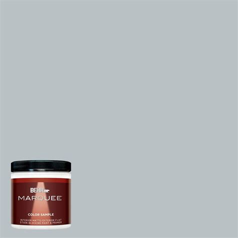 behr marquee 8 oz mq5 31 distant interior exterior paint sle mq30016 the home depot