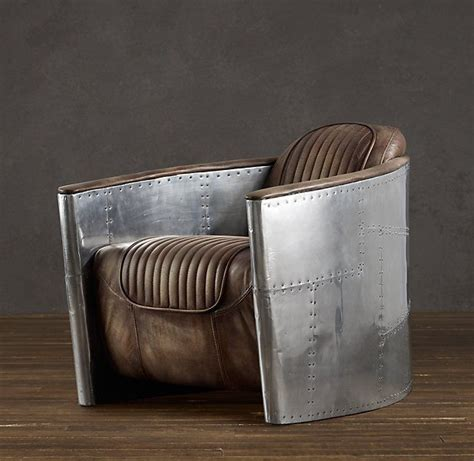 Restoration Hardware Airplane Desk by Aviator Chair Cave Stuff For The Cave