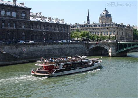 boat tour of paris vedettes de paris boat tour eutouring