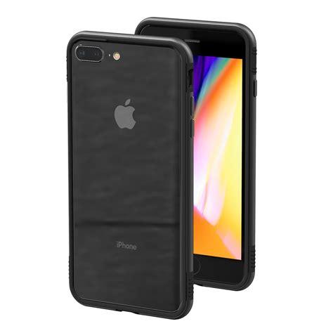 thanotech  iphone     aluminium bumper case black