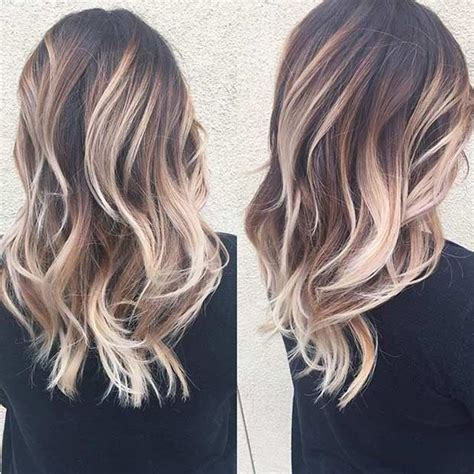 balayage medium length hair pictures to pin on pinterest 25 best ideas about balayage on pinterest baylage