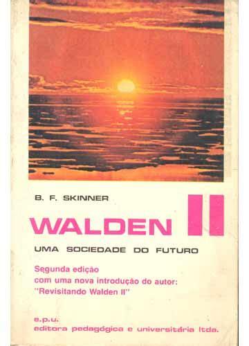 walden ii book livro walden ii uma sociedade do futuro sebo do messias