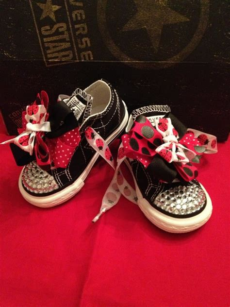 Converse All Kiddos Black 17 best images about blinged converse on