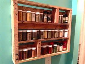 Vintage Spice Racks Diy Pallet Wood Spice Rack 101 Pallets