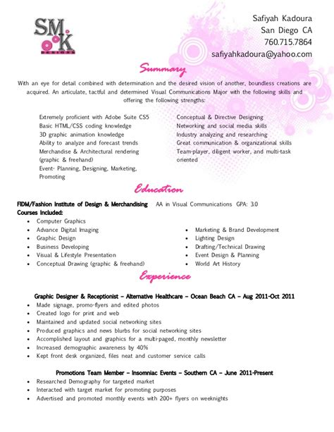 Resume For Receptionist In Hair Salon Smk Resume