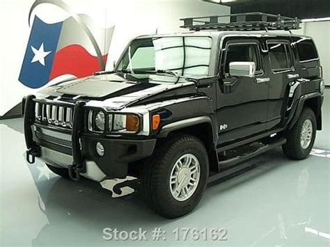H3 Hummer Roof Rack by Find Used 2008 Hummer H3 4x4 Automatic Side Steps Roof