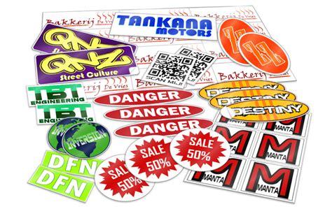 Auto Sticker Zelf Maken by Stickers Drukken Printen En Bestellen 24 Stickers Nl