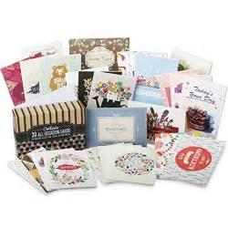 cortesia all occasion premium greeting cards assortment 30 unique designs box set incl