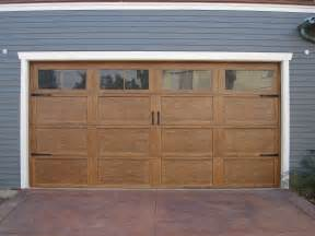 How To Make Garage Doors by Craftsman Style Garage Doors Homesfeed