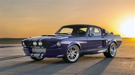 classic recreations quot blurple quot 67 shelby mustang