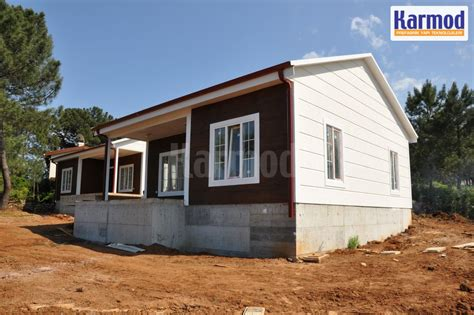 low cost housing affordable prefab house prefabricated buildings karmod