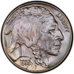 1935 buffalo nickel values and prices past sales