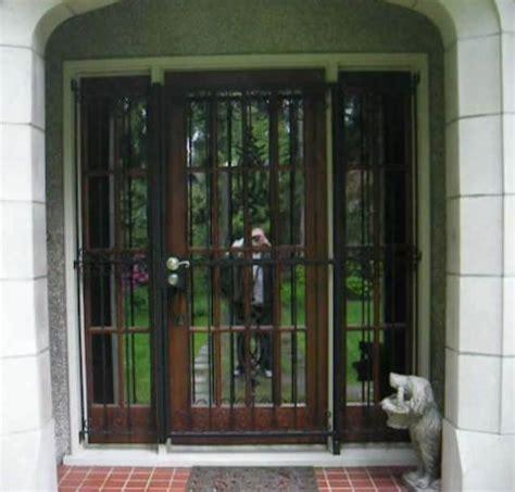selecting the best iron security door homes design