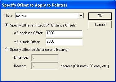 tutorial qgis bahasa memindahkan layer berdasarkan jarak dan sudut atau