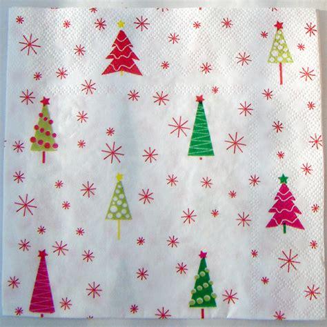 free pattern christmas tree napkins print pattern xmas tree napkins