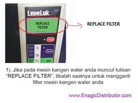 Filter Mesin Kangen Water cara mengganti filter kangen water tutorial langkah demi