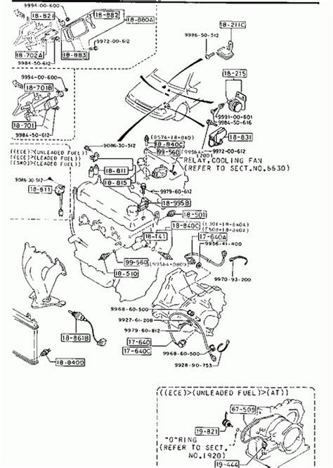 mazda 323 engine diagram free wiring diagrams