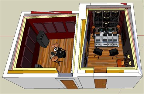 small recording studio design