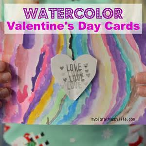 watercolor s day cards my big happy