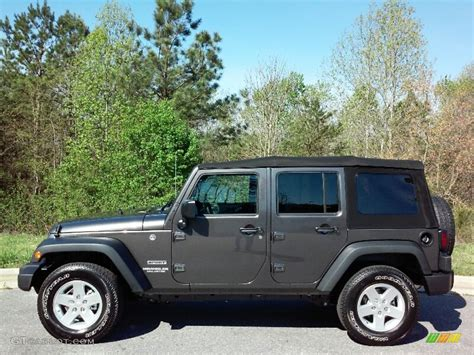 jeep granite crystal metallic granite jeep wrangler sport unlimited html autos post