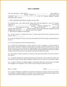 Printable Lease Agreement Doc 12751680 Free Printable Rental Lease Agreement Form