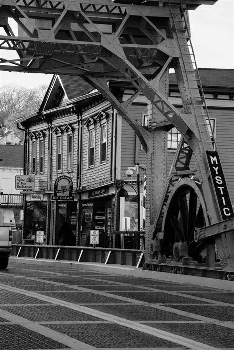 Mystic Bridge stock photo. Image of bridge, span, midwest