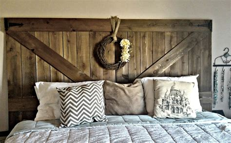 making a rustic headboard design diy at home with amber marlowe lane