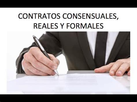 imagenes reales y virtuales contratos consensuales reales y formales youtube