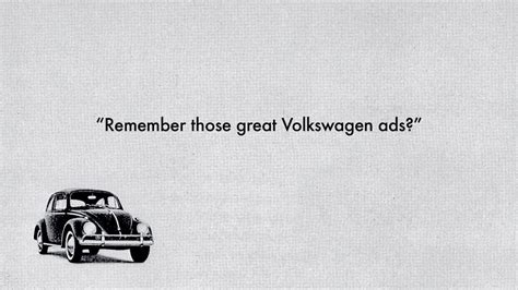 volkswagen ads 2016 this short documentary tells the story of the great