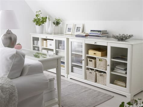 storage solutions living room top white ikea liatorp buffet wallpapers