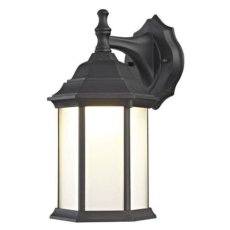 black outdoor wall lantern black led outdoor wall lantern 5204 bk 3000k 80cri