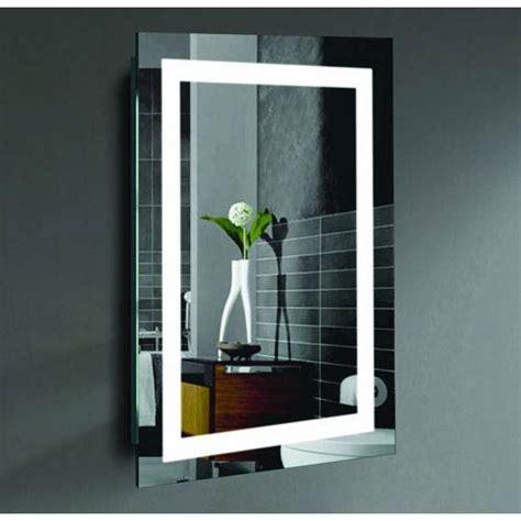 lit bathroom mirror lighted wall mirror bathroom lighted malisa 24 x 36 inch led lighted wall mirror by civis usa