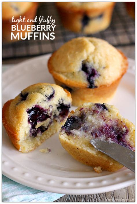 Pluffy Blueberry light and fluffy blueberry muffins harris kitchen