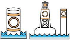 mooring buoy boat exam the buoyage system canadian safe boating course