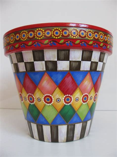 Painted Planter Pots by 25 Best Ideas About Painting Clay Pots On