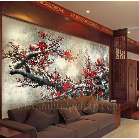 asian wall mural wall murals pictures to pin on pinsdaddy