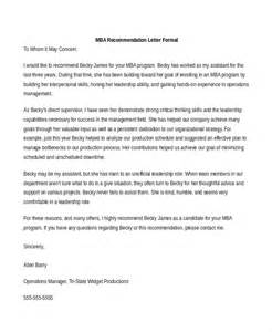 cover letter mba sle academic reference letter for mba cover letter