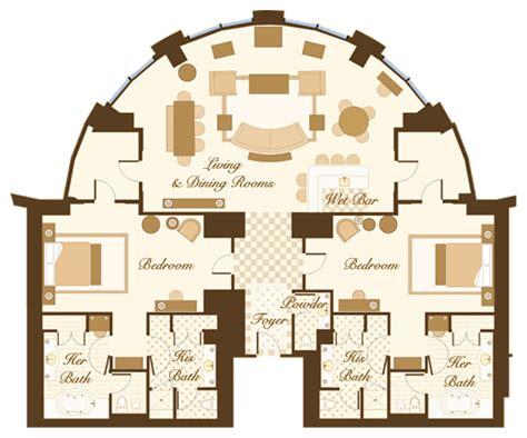 bellagio hotel floor plan suites and villas at the bellagio thefinerthings