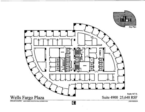 wells fargo floor plan wells fargo plaza mvarchitects