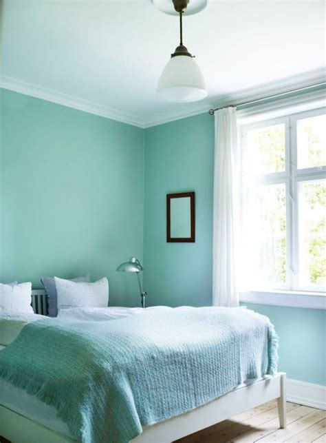 mint green bedroom walls painting the interior in mint green room decorating