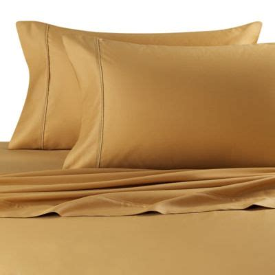 gold bed sheets buy gold sheets from bed bath beyond