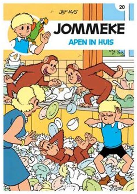 len in huis apen in huis stripverhaal jommeke 20 nys jef