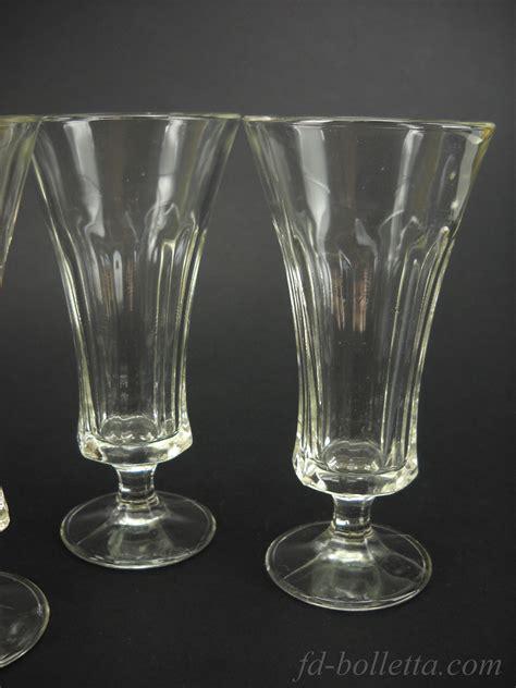 bicchieri da amaro bicchieri vecchi in vetro da liquore lotto tre bicchieri