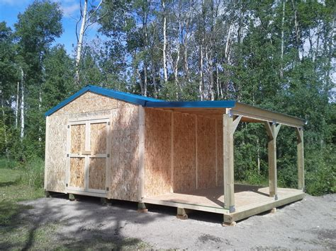 6 X 14 Storage Shed Northern Storage Sheds Fort St Columbia