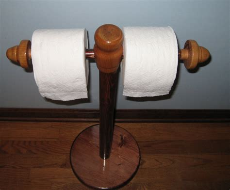 toilet paper holder wood solid wood toilet paper holder 2 rolls handmade from