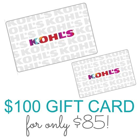 printable gift cards for kohls kohls coupons with pin mega deals and coupons