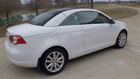 Volkswagen Eos 2009 by Hd 2009 Volkswagen Eos 2 0t Top Convertible For