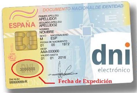 motopanzetade 2016 cual es la fecha en el nuevo dni 191 d 243 nde figura la fecha de expedici 243 n