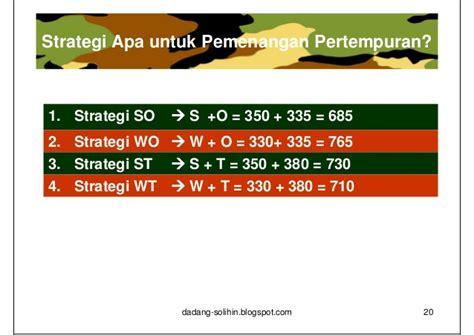 analisis swot untuk penyusunan strategi upload share analisis swot untuk penyusunan strategi upload share